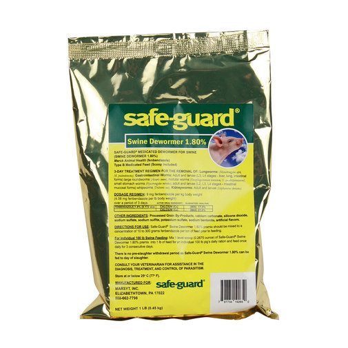 View larger image of Safe-Guard Swine Dewormer 1.8%