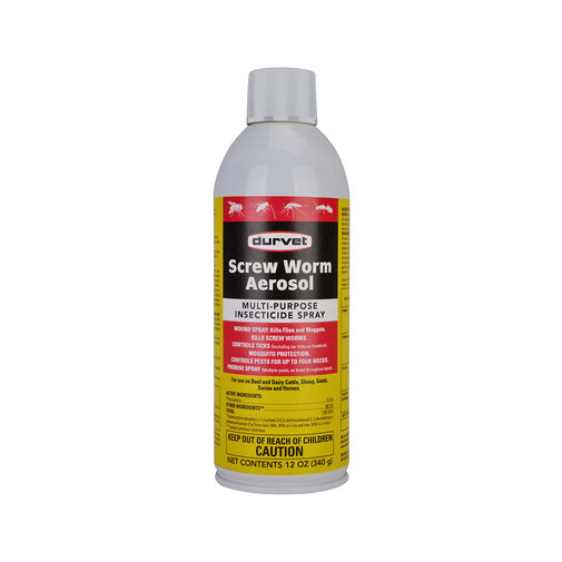 View larger image of Screw Worm Aerosol Multi-Purpose Insecticide Spray