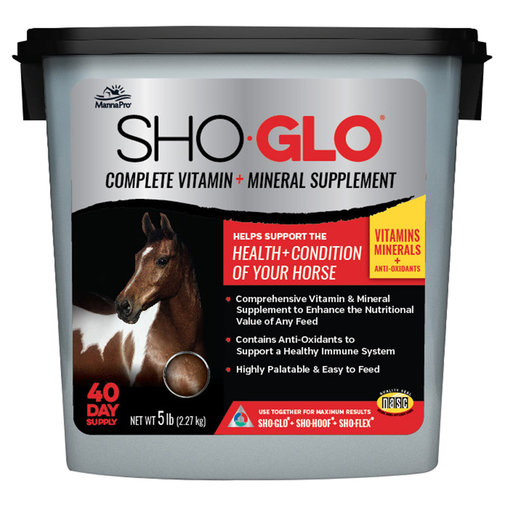 View larger image of Sho-Glo Complete Vitamin + Mineral Horse Supplement