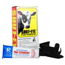 Shut-Eye Pinkeye Patches for Cattle