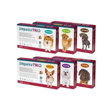 Simparica TRIO Chewable Tablets for Dogs Rx