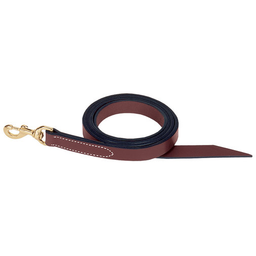 View larger image of Single-Ply Leather Horse Lead