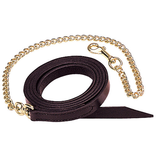 View larger image of Single-Ply Leather Horse Leads