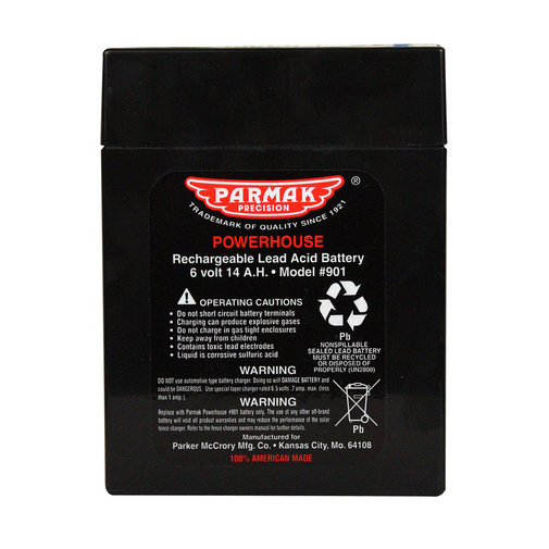 View larger image of Solar-Pak Fencer 6V Replacement Battery