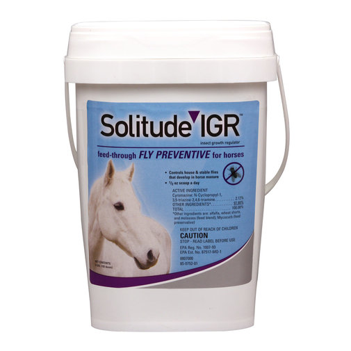 View larger image of Solitude IGR Feed-Thru Fly Control for Horses