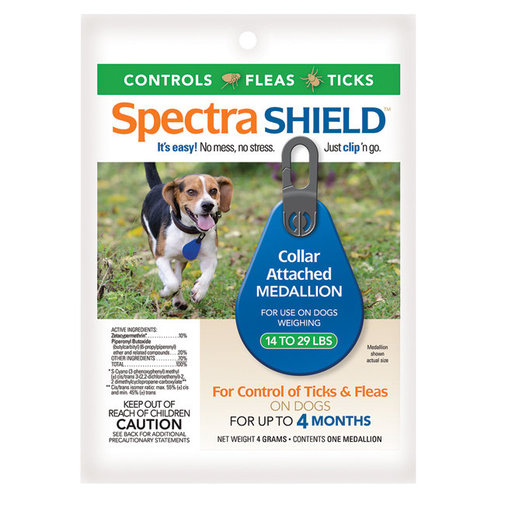 View larger image of Spectra SHIELD Flea and Tick Medallion for Dogs