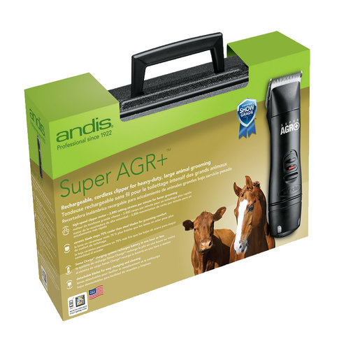 View larger image of Super AGR+ Cordless Rechargeable Horse Clipper