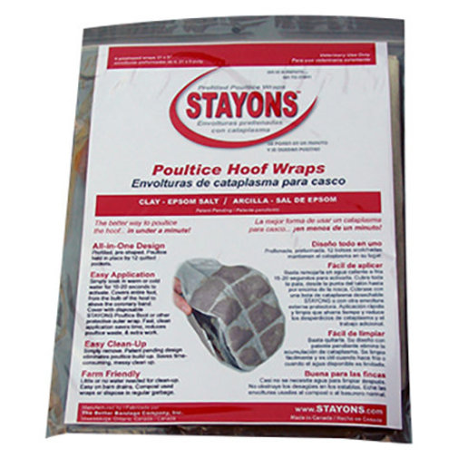 View larger image of STAYONS Poultice Hoof Wraps