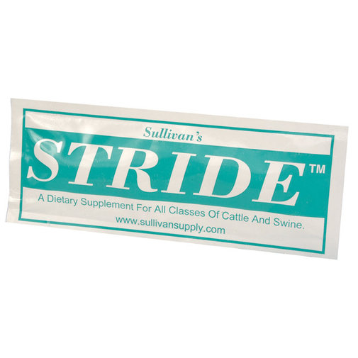View larger image of Stride Livestock Show Supplement