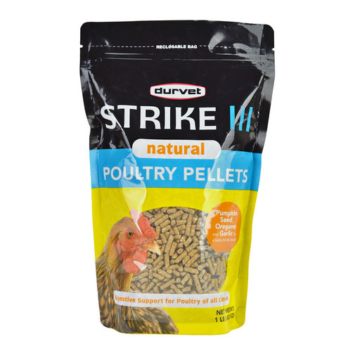 View larger image of Strike III Natural Poultry Pellets