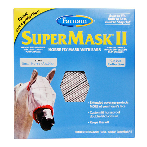 View larger image of SuperMask II Fly Mask with Ears
