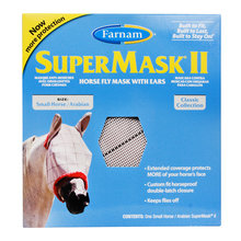 SuperMask II Fly Mask with Ears