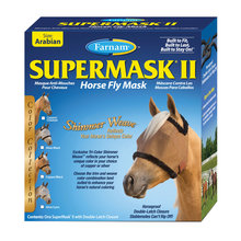 SuperMask II Shimmer Weave Fly Mask without Ears