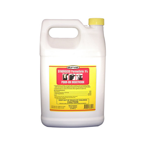 View larger image of Synergized Permethrin 1% Pour-On Insecticide