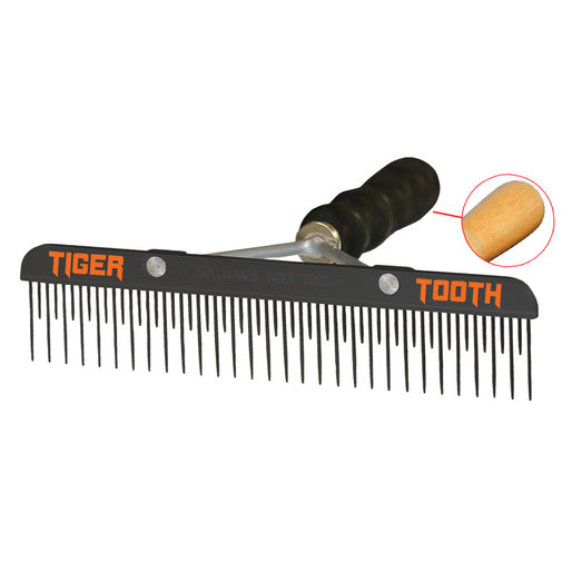 View larger image of Teflon Tiger Tooth Fluffer Comb