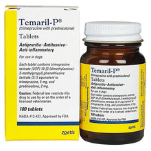 Temaril-P Tablets for Dogs Rx