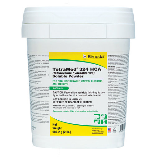 View larger image of TetraMed 324 HCA Soluble Powder Rx