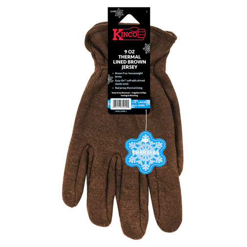 View larger image of Heavyweight Thermal Lined Jersey Gloves