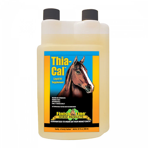 View larger image of Thia-Cal Liquid B1 Horse Supplement