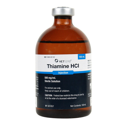 View larger image of Thiamine HCl Injection Rx
