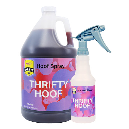 View larger image of Thrifty Hoof Spray and Footbath Additive