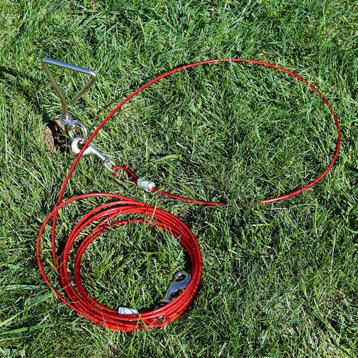 View larger image of Titan Dog Tie Out Cable