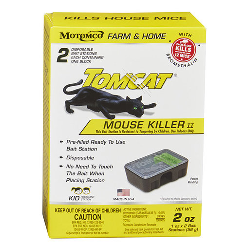 View larger image of Tomcat Mouse Killer II Bait Station