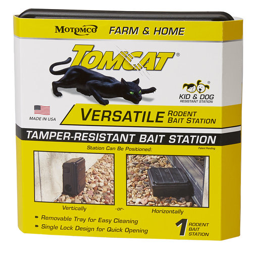 View larger image of Tomcat Versatile Rodent Bait Station