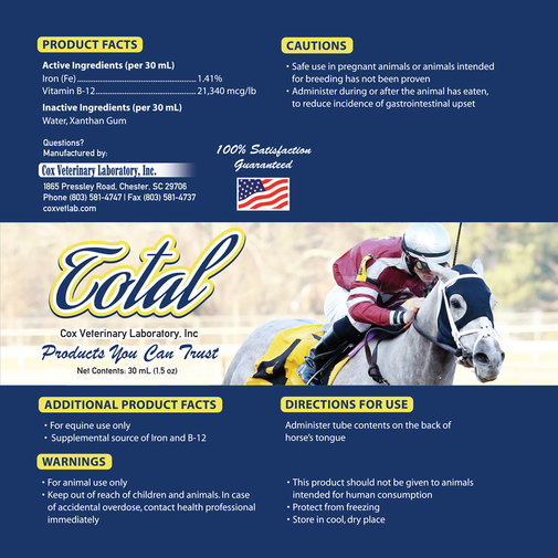 View larger image of Total Horse Supplement