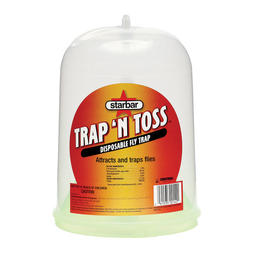 View larger image of Trap 'N Toss Disposable Fly Trap
