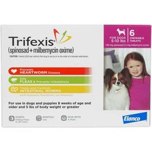 Trifexis Chewable Tablets for Dogs Rx