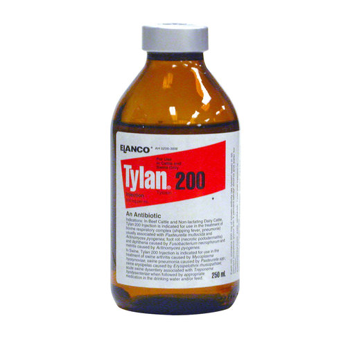 View larger image of Tylan 200 Tylosin Antibiotic for Cattle and Swine