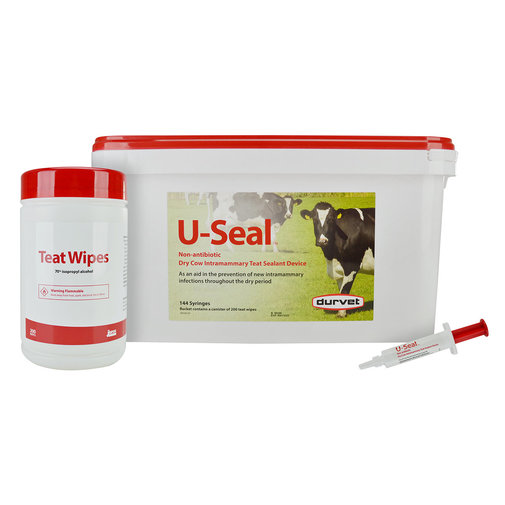 View larger image of U-Seal Non-Antibiotic Dry Cow Intramammary Teat Sealant Device