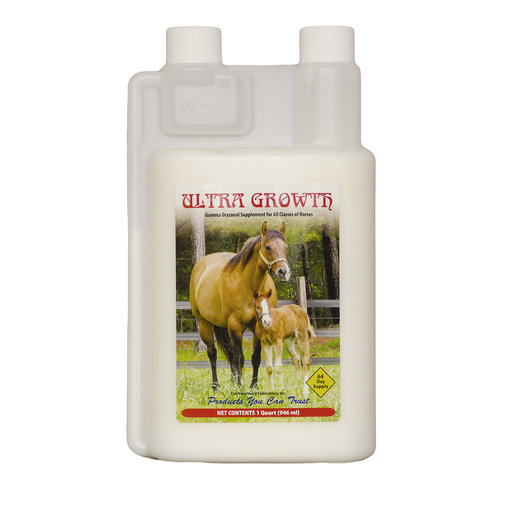 View larger image of Ultra-Growth Muscle-Building Liquid Horse Supplement