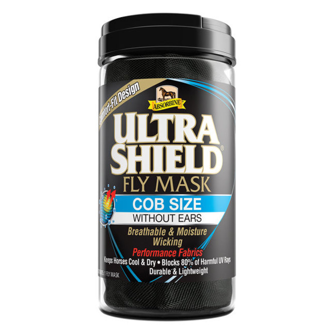 View Larger Image Of Ultra Shield Fly Mask Without Ears
