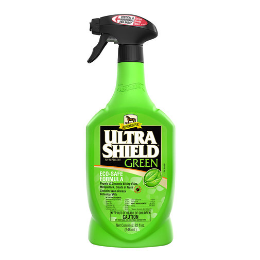 View larger image of Ultra Shield Green Natural Fly Repellent for Horses