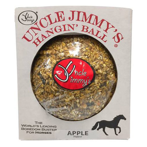 View larger image of Uncle Jimmy's Hangin' Ball Horse Treat