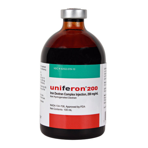View larger image of Uniferon 200 Iron Injection