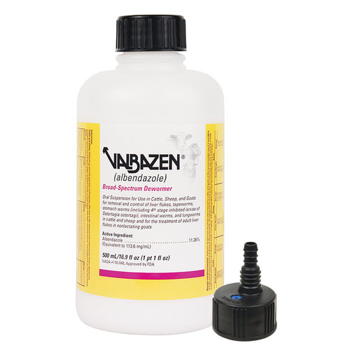 View larger image of Valbazen Suspension Broad Spectrum Dewormer