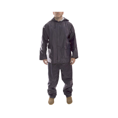 View larger image of Vinyl Rain Suit with Hood by Tingley