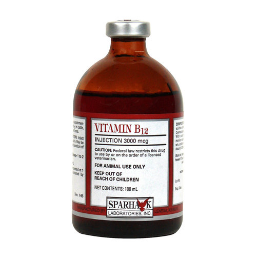 View larger image of Vitamin B12 3000mcg Injection Rx