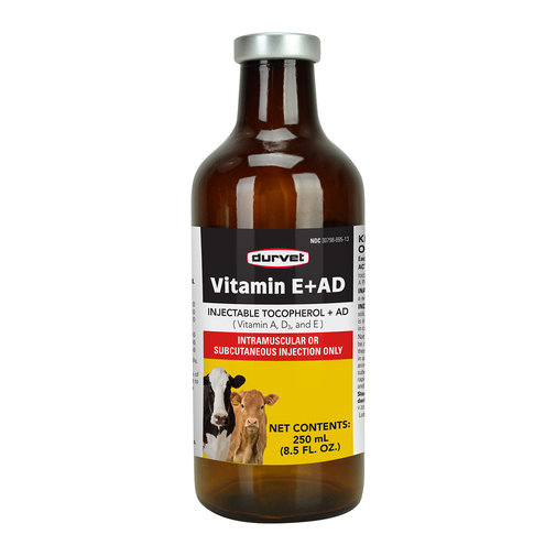 View larger image of Vitamin E+AD Injectable for Cattle