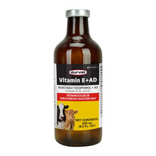 Vitamin E+AD Injectable for Cattle
