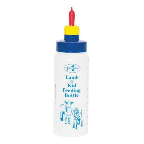 View larger image of Wide Mouth Lamb 'N' Kid Bottle with Pritchard Teat