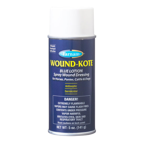 View larger image of Wound-Kote Blue Lotion Spray Wound Dressing