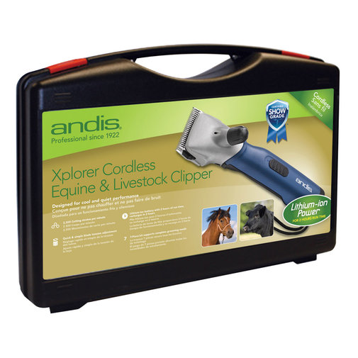 View larger image of Xplorer Cordless Equine & Livestock Clipper
