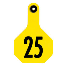 Y-Tex 3-Star Medium Numbered All-American Ear Tags