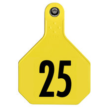 Y-Tex 4-Star Large Numbered All-American Ear Tags