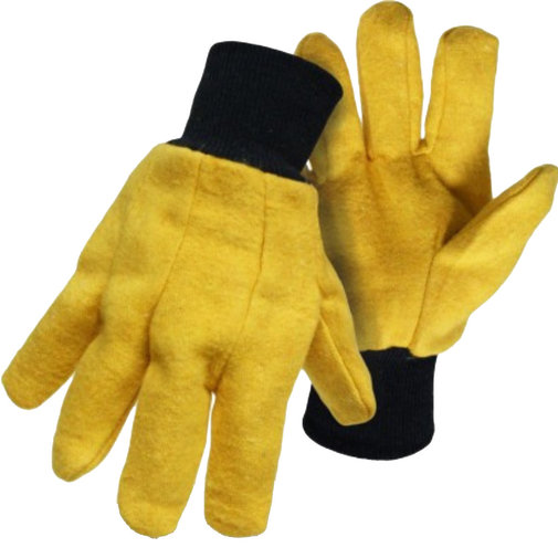 View larger image of Cotton/Poly Flannel Chore Gloves
