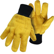 Cotton/Poly Flannel Chore Gloves